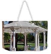 La Quinta Park Gazebo Weekender Tote Bag