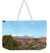 La Sal Mountains Weekender Tote Bag