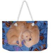 Lab Pups 2 Weekender Tote Bag