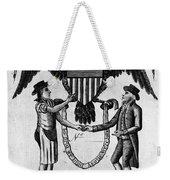 Labor Certificate, 1795 Weekender Tote Bag