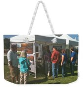 Lac St Clair Artfair 2012 Weekender Tote Bag