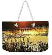 Lacassine Sundown Weekender Tote Bag