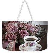Ladies Tea Time Weekender Tote Bag