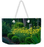 Lady Among The Blossoms Weekender Tote Bag