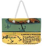 Lady Bug Wiggler Weekender Tote Bag