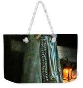 Lady By Lantern Light Weekender Tote Bag