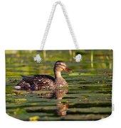 Lady Duck 1 Weekender Tote Bag