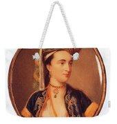 Lady Mary Wortley Montagu Weekender Tote Bag