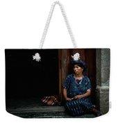 Lady Of Antigua Weekender Tote Bag