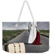 Lady On The Road Weekender Tote Bag