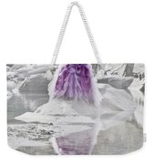 Lady On The Rocks Weekender Tote Bag by Joana Kruse