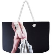 Lady With A Coat Weekender Tote Bag