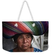 Lady With A Load Weekender Tote Bag