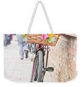 Lady's Bike Weekender Tote Bag