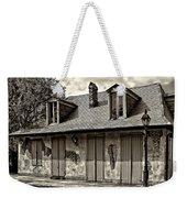 Lafittes Blacksmith Shop Bar In Sepia Weekender Tote Bag