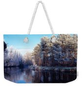 Lagan Meadows During Winter, Belfast Weekender Tote Bag
