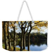 Lake And Trees, Mount Stewart, Co Down Weekender Tote Bag