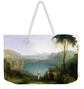 Lake Avernus - Aeneas And The Cumaean Sibyl Weekender Tote Bag