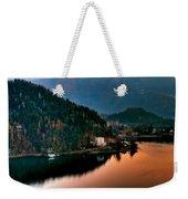 Lake Bled. Slovenia Weekender Tote Bag