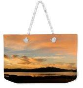 Lake Casitas Sunrise Weekender Tote Bag