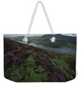 Lake District View From A Hillside Weekender Tote Bag