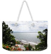 Lake Erie Beach At Sturgeon Point Weekender Tote Bag