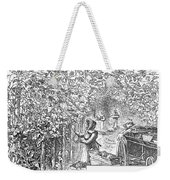 Lake Erie: Vineyard, 1873 Weekender Tote Bag