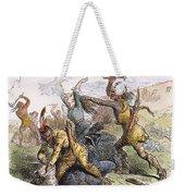 Lake George: Massacre, 1757 Weekender Tote Bag