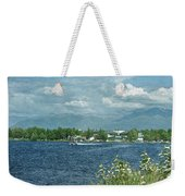 Lake Hood Anchorage Alaska Weekender Tote Bag