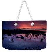 Lake Huron Sunset Weekender Tote Bag