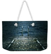 Lake In The Winter Weekender Tote Bag