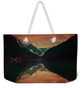 Lake Louise Abstract Weekender Tote Bag