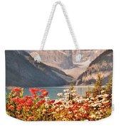 Lake Louise Alberta Weekender Tote Bag