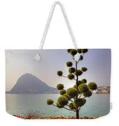 Lake Lugano - Monte Salvatore Weekender Tote Bag