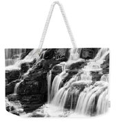 Lake Mcdonald Falls Glacier National Park Weekender Tote Bag