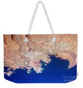 Lake Mead Shores Nv Planet Earth Weekender Tote Bag