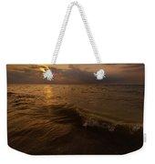 Lake Michigan Sunset Weekender Tote Bag