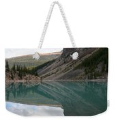 Moraine Lake - Lake Louise, Alberta Weekender Tote Bag