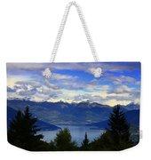Lake Of Como View Weekender Tote Bag