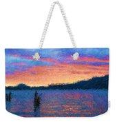 Lake Quinault Sunset - Impressionism Weekender Tote Bag