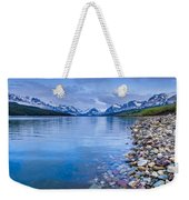 Lake Sherburne Shoreline Weekender Tote Bag