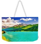 Lake Sils Weekender Tote Bag