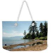 Lake Tahoe Beach Weekender Tote Bag