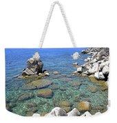 Lake Tahoe Shore Weekender Tote Bag