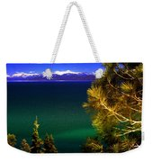 Lake Tahoe Vista Weekender Tote Bag