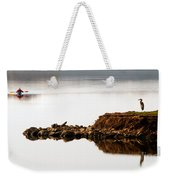 Lake Visitors Weekender Tote Bag