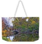 Lake Wingra Bridge Weekender Tote Bag