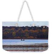 Lake Wingra Fishing Weekender Tote Bag