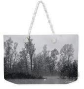 Lake With Trees Weekender Tote Bag