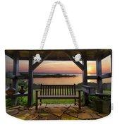 Lakeside Serenity Weekender Tote Bag